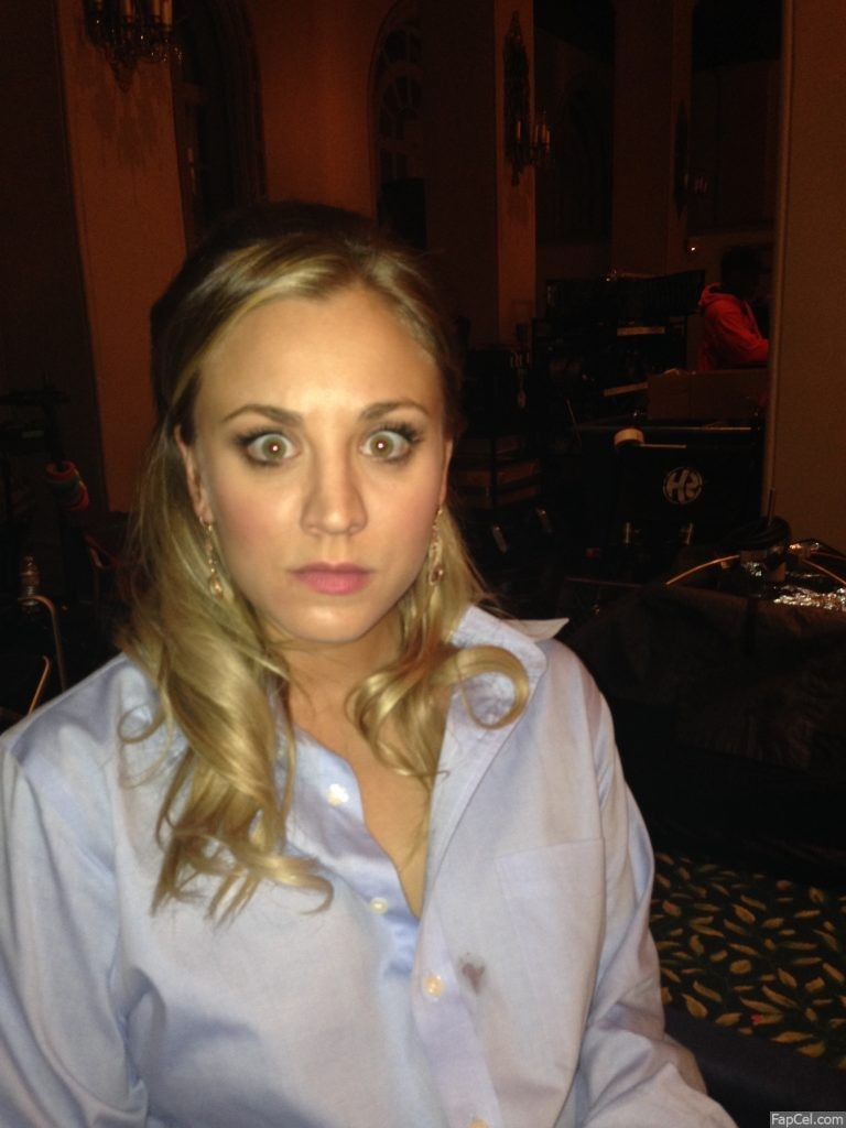 Kaley Cuoco Angry AF