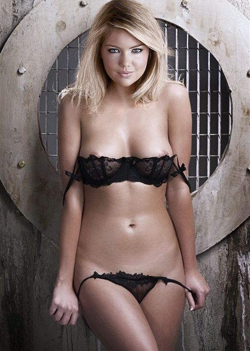 Kate Upton Getting Naked