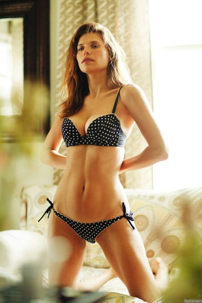 Lake Bell in Sexy Underwear
