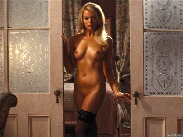 Margot Robbie Nude in Wolf From Wall Street