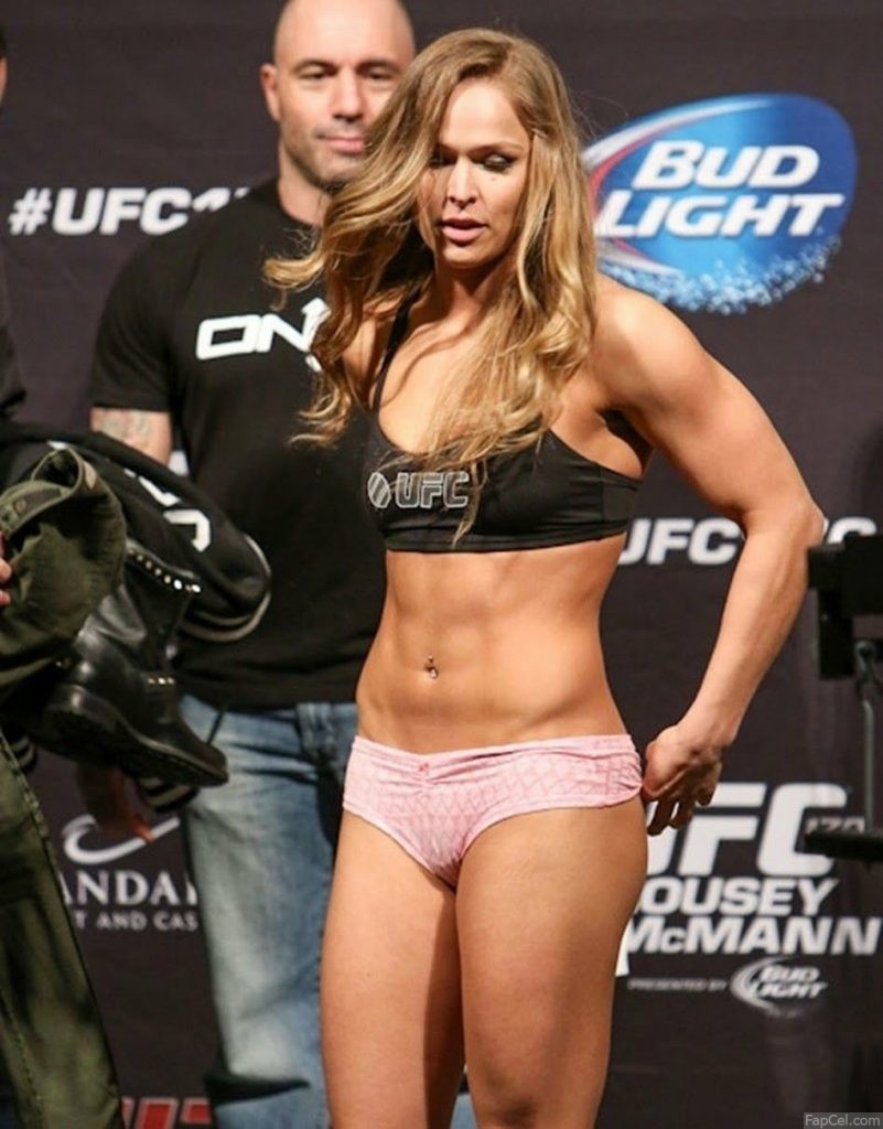 Ronda Rousey in Pink Panties