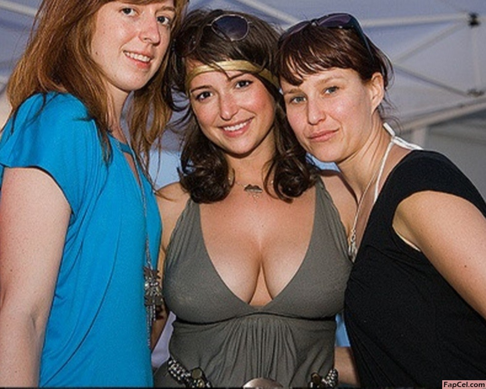 Milana Vayntrub on a Party